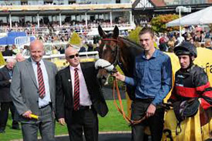 WINNER!  Success at Chester - 13th September 2014