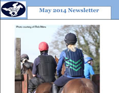 May newsletter - Out Now 1st May 2014