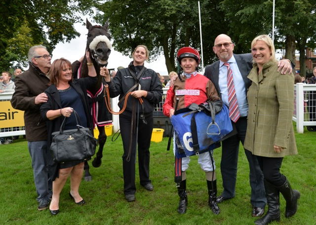 WINNER! Dubai Dynamo at Ripon - 31st August 2015