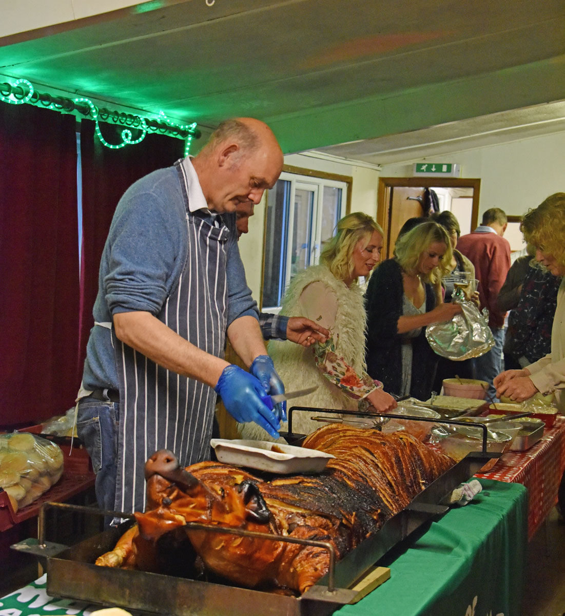 Fabulous hog roast