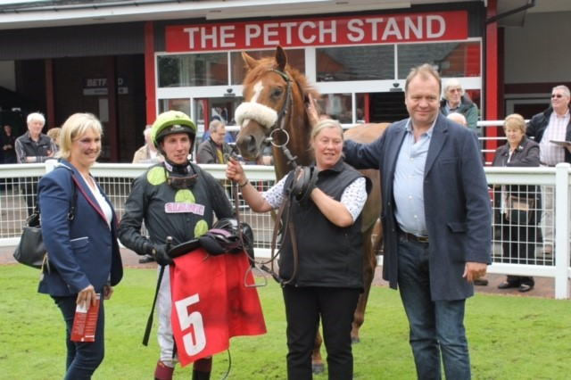WINNER! Magical Effect wins at Redcar - 12th August 2017