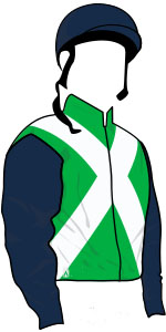 Kingstreet Lady racing colours