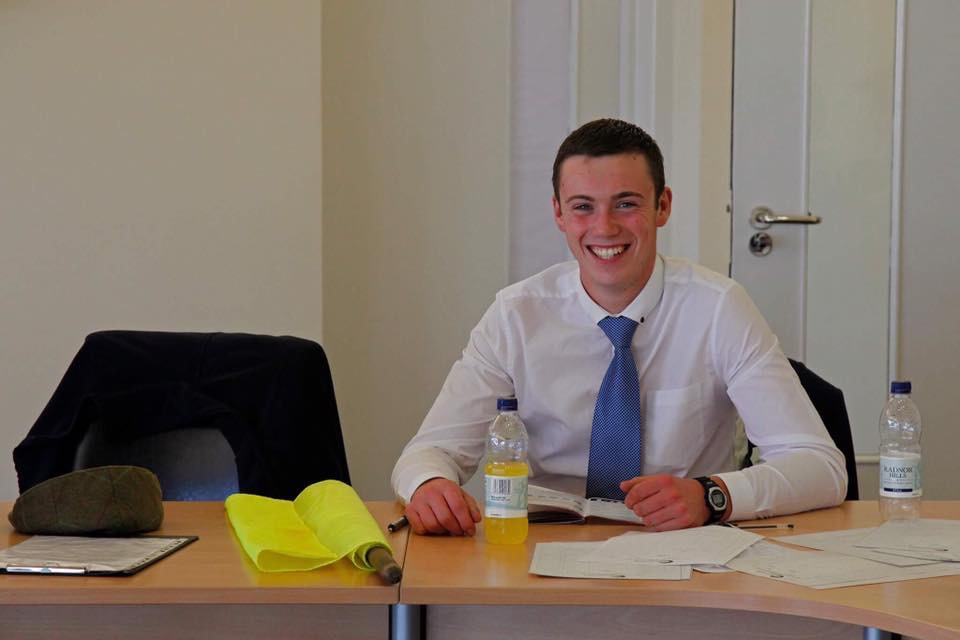 Ryan at desk