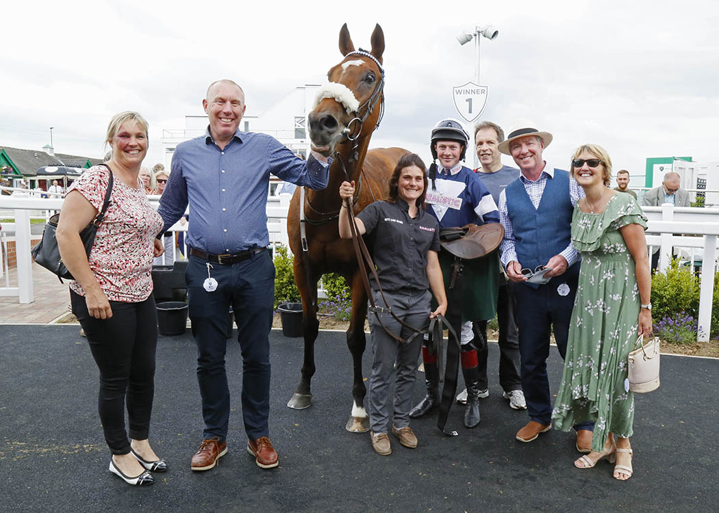 Be Perfect and owners Catterick 2019
