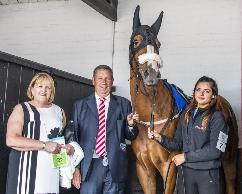 Suwaan with owners Alan and Margaret Swinburne